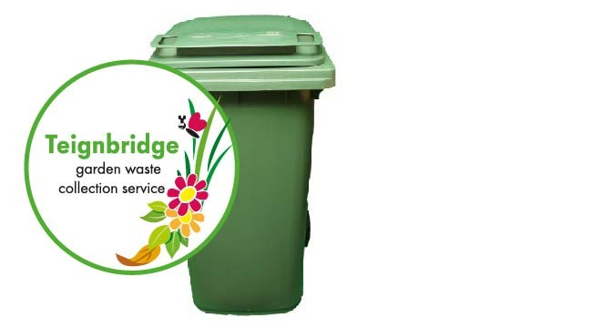 Green bin - subscribed garden waste collection service