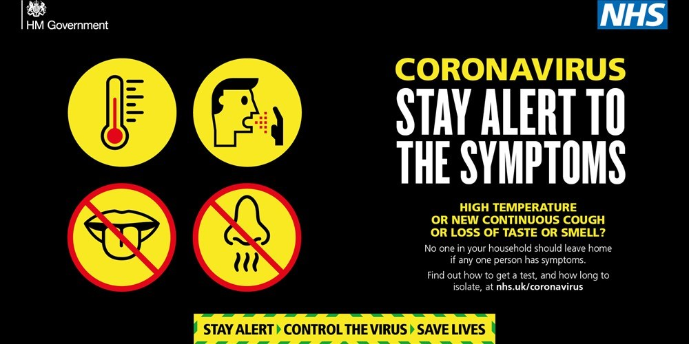 Coronavirus - Stay alert to stay safe